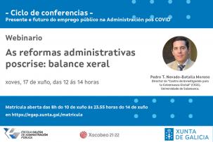 Webinario As reformas administrativas poscrise: balance xeral